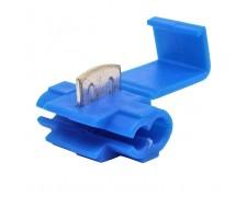 Конектор бърза връзка за два проводника  1.5-2,5mm²  СИН