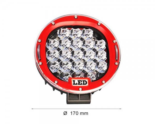 LED фар 15W кръг насочен