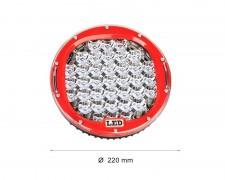 LED фар 60W кръг насочен