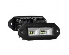 LED фарове за вграждане в панел и броня 2x40W FLOOD