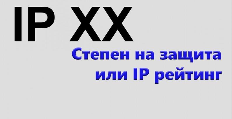 Какво е степен на защита или IP рейтинг