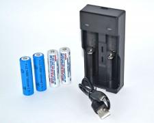 Заместващ комплект АА и USB зарядно