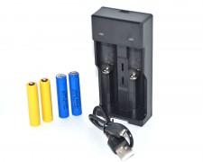 Заместващ комплект AAA и USB зарядно