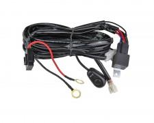 Кабели с реле и ключ за един LED фар 3м 400W 12 V