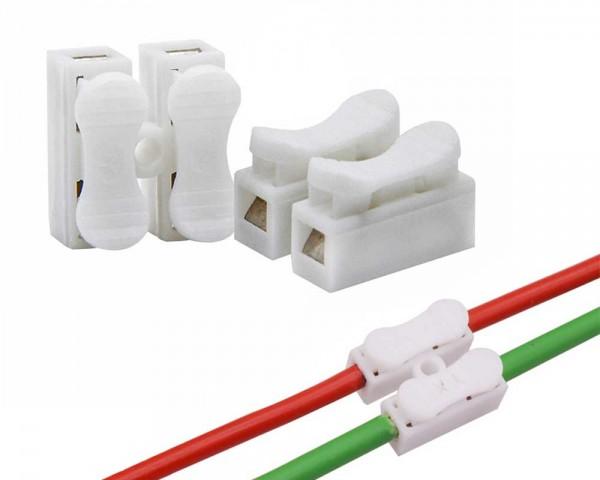 Конектор клема бърза връзка за два проводника 0,5 – 2,5 мм