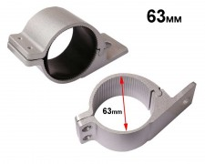 Скоби стойки за монтаж LED фар БАР към тръба Ф63мм, комплект