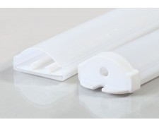 Водоустойчив пластмасов профил за LED лента 32х14мм