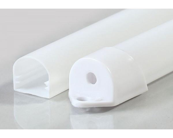 Водоустойчив пластмасов профил за LED лента 15х14мм
