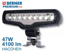 LED фар 47W 4100lm 9 led насочен Berner Premium