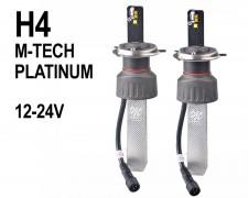 LED авто лампи комплект H4 12-24V 60W  къси/дълги M-TECH