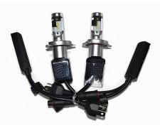 LED авто лампи комплект H4 къси/дълги 12V 16W NARVA RANGE POWER