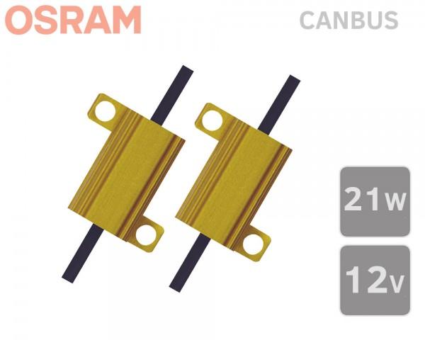 CANBUS товарен резистор залъгалка 21W OSRAM