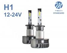 LED авто лампи комплект H1 12-24V 2x24W M-TECH