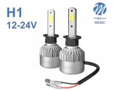LED авто лампи комплект H1 Basic 12-24V 2х16W M-TECH