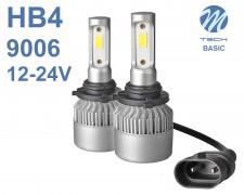 LED авто лампи комплект HB4 Basic 12-24V 2х16W M-TECH