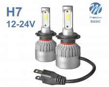 LED авто лампи комплект H7 Basic 12-24V 2х16W M-TECH