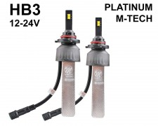 LED авто лампи комплект HB3 12-24V 2х20W M-TECH PLATINUM