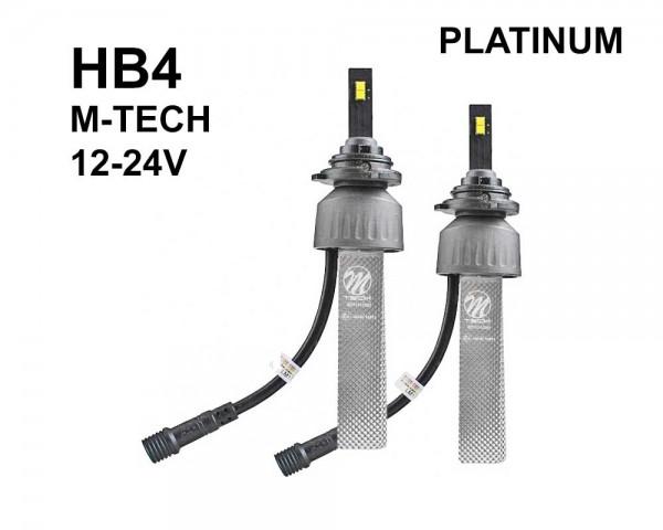 LED авто лампи комплект HB4 12-24V 2х20W M-TECH PLATINUM