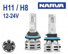 LED авто лампи Narva Range Performance H11-H8 12-24V 2х19W комплект