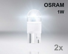 Крушка W5W LED OSRAM Premium 1W 12V БЯЛА комплект