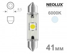 Крушка C5W LED 41мм NEOLUX 12V БЯЛА