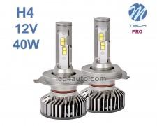 LED авто лампи комплект H4 PRO 12V 2х20W M-TECH