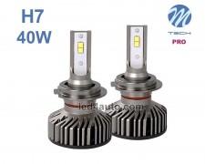 LED авто лампи комплект H7 PRO 12V 2х20W M-TECH