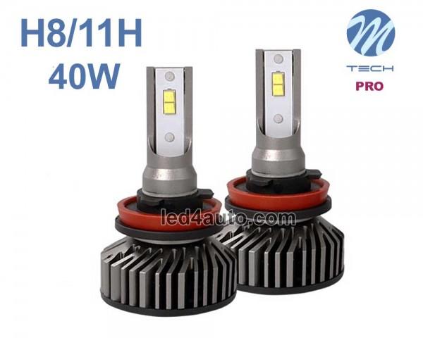 LED авто лампи комплект H8/H11 PRO 12V 2х20W M-TECH
