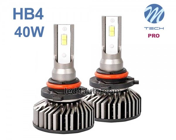 LED авто лампи комплект HB4 PRO 12V 2х20W M-TECH