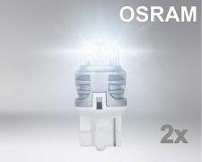 Крушка LED W21W БЯЛА 1,5W 12V OSRAM комплект