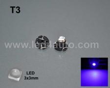 LED 3030-2 лампа за табло Т3 СИНЯ