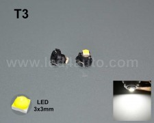 LED 3030-2 лампа за табло Т3 БЯЛА