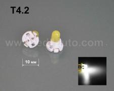 LED лампа за табло Т4.2 БЯЛА