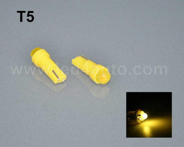 LED лампа за табло Т5 ЖЪЛТА