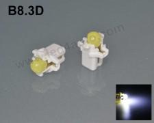 LED лампа за табло B8.3D БЯЛА