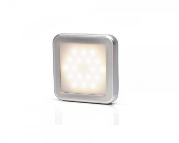 Интериорен плафон 12V 18 LED МАТ