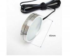 Мебелна лунa за външен монтаж БЯЛ LED 3W 45х19мм