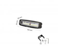 LED фар 28W mini насочен за мъгла