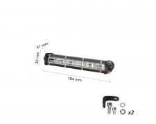 LED фар 15W mini насочен за мъгла