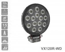 LED фар OSRAM VX120R-WD 1100lm 15W FLOOD