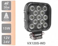 LED фар OSRAM VX120S-WD 1100lm 15W FLOOD