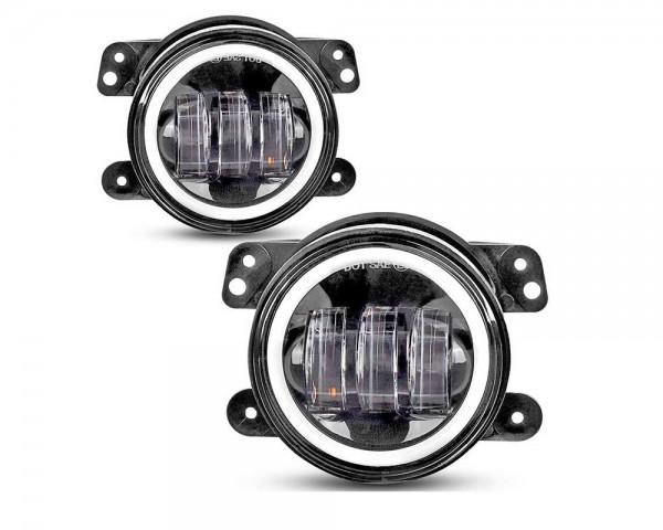 LED фарове 4 инча за мъгла с дневна светлина комплект
