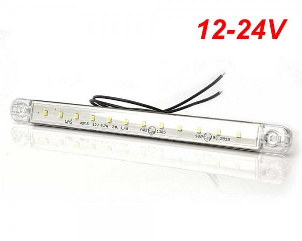 Универсална светлина габарит водоустойчива 12 LED 12-24V