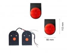 LED задни фарове - стоп единичен малък