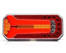 LED заден фар камион неон 3 светлини ЛЯВ
