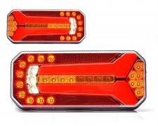 LED заден фар камион неон 5 светлини универсален W150DD