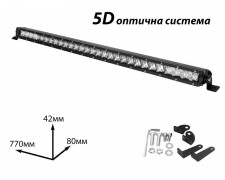 LED БАР фар 150W 40 инча комбиниран 5D SR