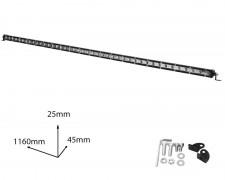LED БАР фар 126W 46 инча разсеян SLIM