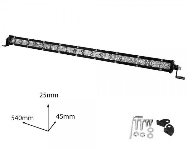 LED БАР фар 54W 22 инча насочен SLIM