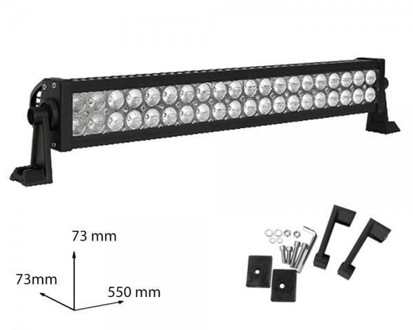 LED БАР фар 120W  21 инча разсеян